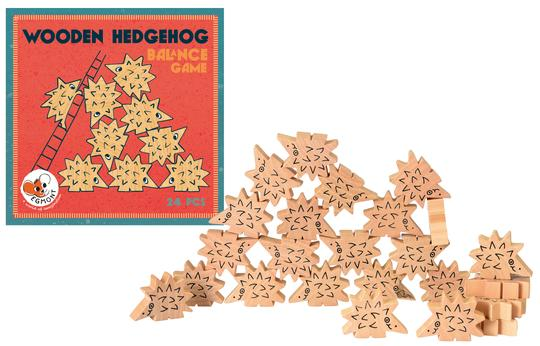 Wooden Hedgehog Balance Game from Egmont Toys