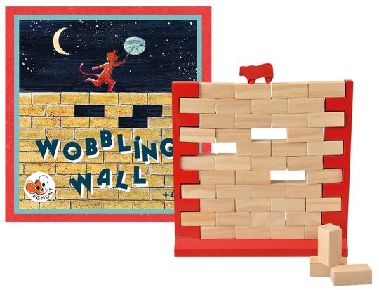 Wobbling Wall Dexterity Game from Egmont Toys