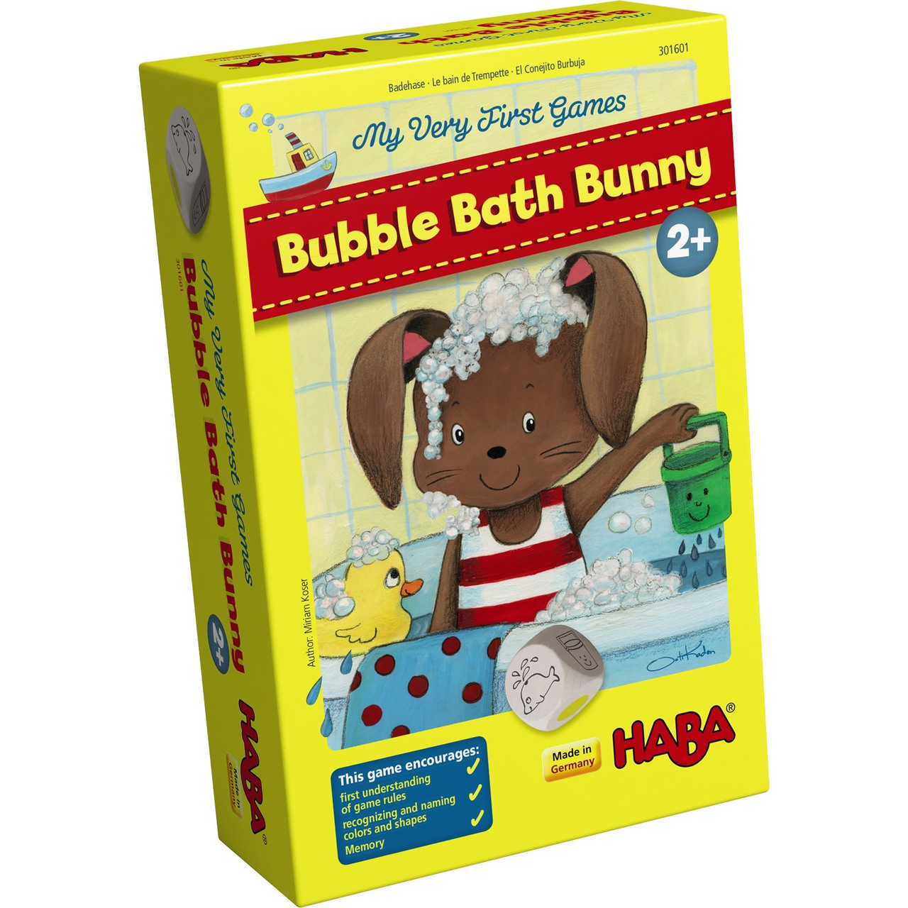 Bubble Bath Bunny: My Very First Games from HABA Games