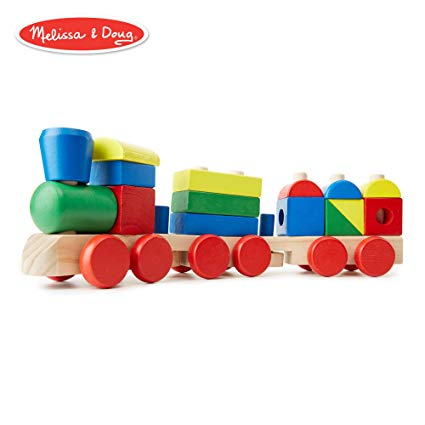 Classic Toy Stacking Train from Melissa & Doug